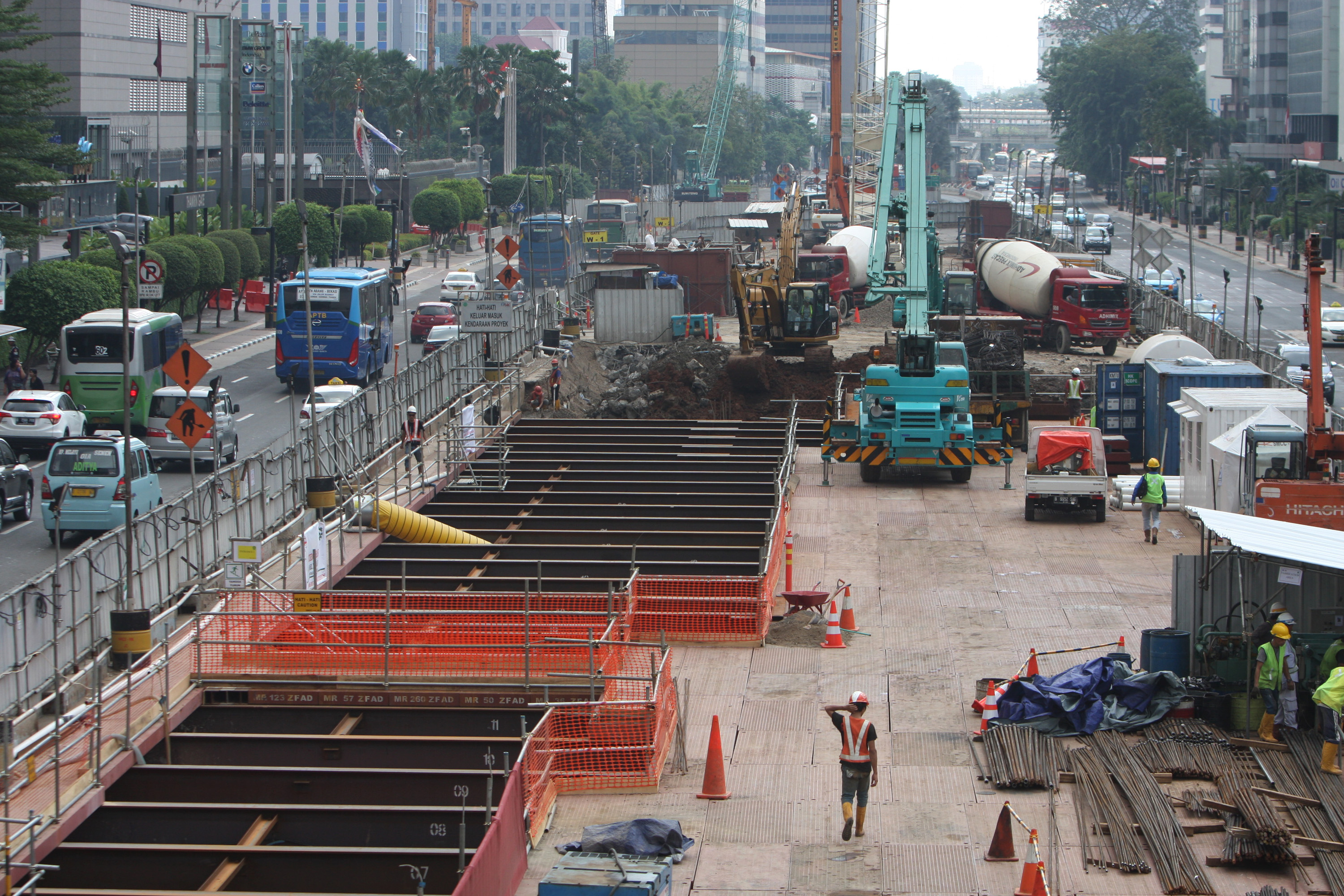 Jakarta S Mrt Is On Track To Open In 2019