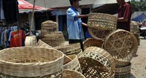 keranjang bambu