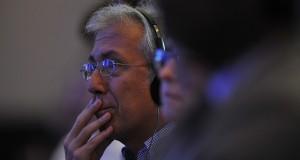 Sejumlah delegasi ketika mengikuti penutupan Konferensi Tingkat Menteri (KTM) ke-9 WTO di BNDCC, Nusa Dua, Bali,