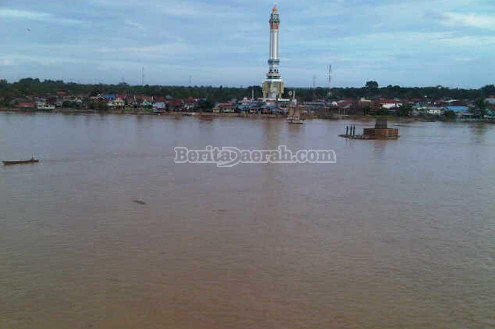 Sungai batanghari terpanjang dan terbesar di provinsi jambi