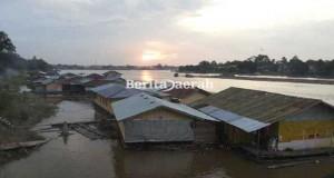 pemukiman-di-sungai-kapuas