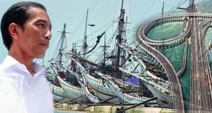 Jokowi-Tol-Laut