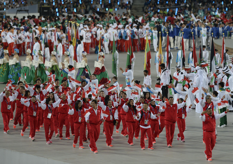 Pembukaan Asian Games 190914 Spt 1 - Asian Games Pembukaan