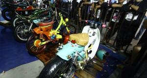 Selama tiga hari, berbagai klub motor dan pehobi otomotif roda dua dimanjakan dengan berbagai event seperti kontes modifikasi, freestyle dan hiburan musik live