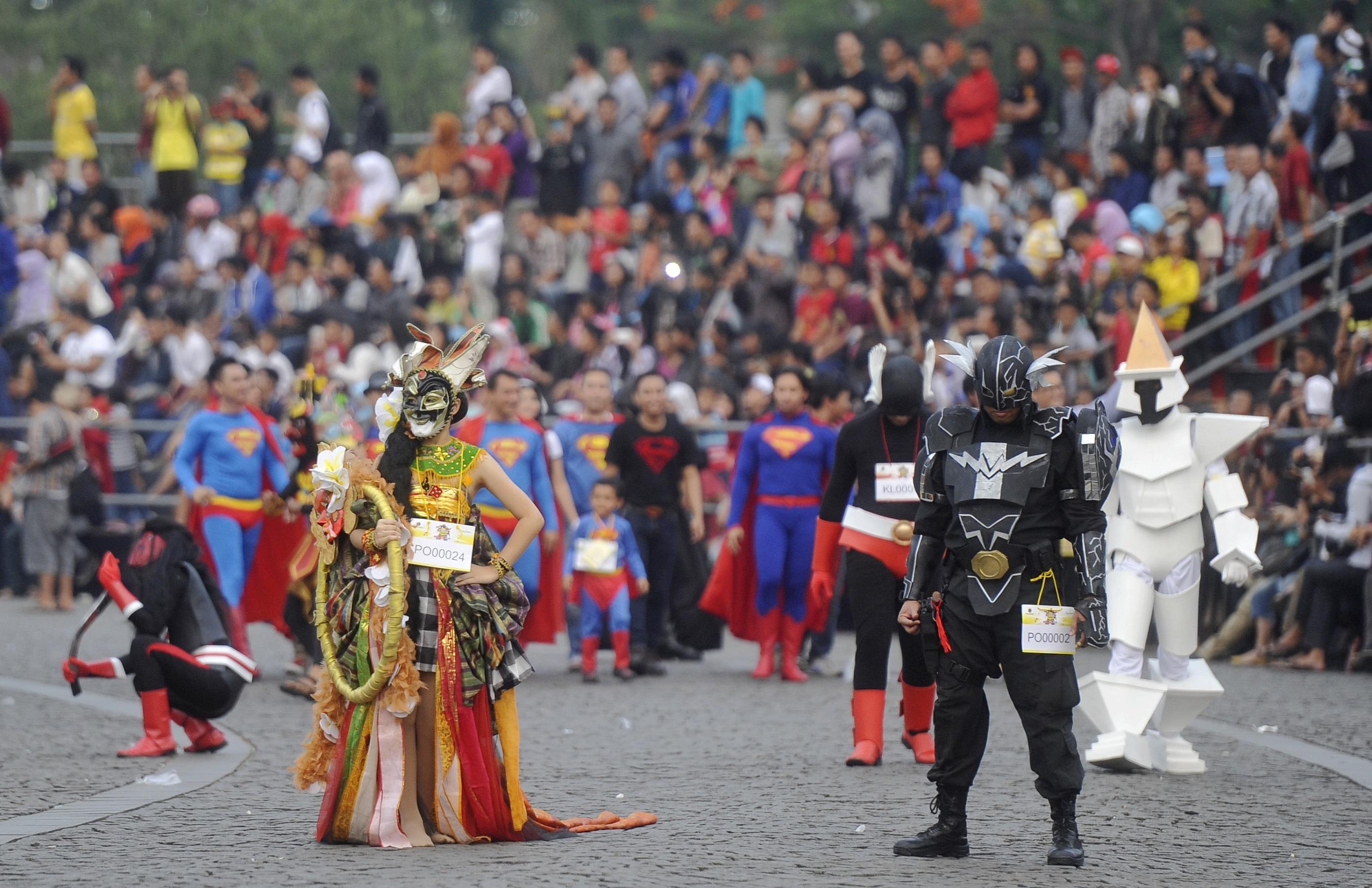 Parade Cosplay di Monas, Jakarta | Berita Daerah