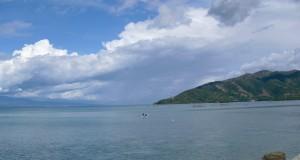 Pemandangan laut di donggala