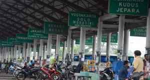 Suasana di Terminal Tipe A, Indihiang, Tasikmalaya, Jawa Barat, Jumat (21/11).