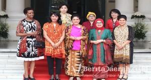 Iriana-Jokowi-museum-tekstil