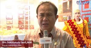 Bupati Kab Nias Drs Sokhiatulo Laoli
