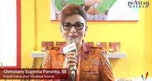 Bupati Minahasa Selatan Christiany Eugenia Paruntu