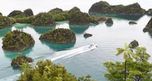 Kawasan wisata Piaynemo di Raja Ampat, Papua Barat