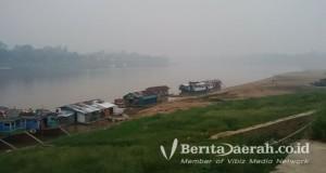 Sungai Kapuas di Kota Sintang