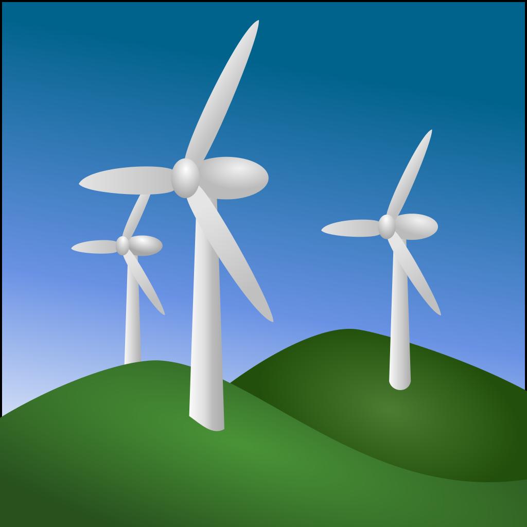 energi angin-icon