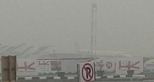 kabut asap di Pontianak