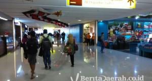 suasana di bandara Ngurah Rai Bali