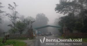 kabut asap di timika arah kuala kencana