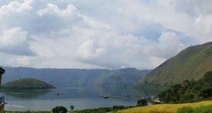 Danau Toba dari sisi Bakkara (Photo: Vera HG/BD)