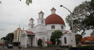 Kota Lama Semarang, Gereja Blenduk (Photo: Teddy Menas/BD)