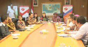 Menteri Pariwisata dalam Jumpa Pers Karnaval Kemerdekaan Pesona Danau Toba