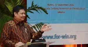 Menteri Menteri Perindustrian  Airlangga Hartatrto (Photo: Beritadaerah)