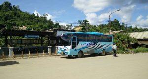 Sarana transportasi di kabupaten Bintuni Papua Barat (Photo: Polswen/ Beritadaerah)