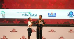Jokowi ayo menabung