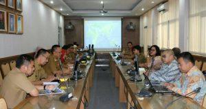 Rapat Pembahasan Potensi Ekonomi dengan Tim Kementerian Luar Negeri
