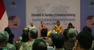 Sosialisasi Implementasi Paket Kebijakan Ekonomi di Diplomatic Gathering