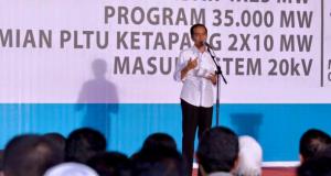 Jokowi PLN