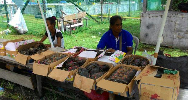penjual kepiting