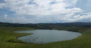 Danau yang Berbentuk Hati di Kabupaten Jayapura