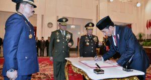 Presiden Jokowi Lantik Hadi Tjahjanto