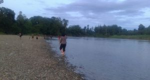 Sungai Sibau di Putussibau