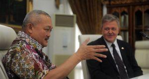 Pengembangan Kerjasama Amerika dan Sumatera di Sumsel, Siap Jadi Model