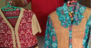 baju kayu khas kalbar