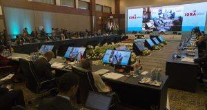 Konferensi Indian Ocean Rim Association (IORA) yang berlangsung pada 5-7 Maret 2017 di Jakarta Convention Center (Photo: Kominfo)