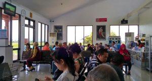 Ruang tunggu Bandara Blimbingsari - Banyuwangi