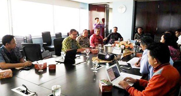 Suasana Pertemuan Kemenko Maritim  dengan Jajaran Pemerintah Kabupaten Kepulauan Selayar, Sulsel yang dipimpin  langsung oleh Bupati, Muh. Basli Ali