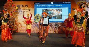 Wonderful Indonesia Juara di Pameran Pariwisata Terbesar Dunia di ITB Berlin