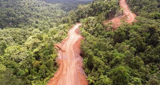 Jalan trans Papua, Photo Kementerian PUPR